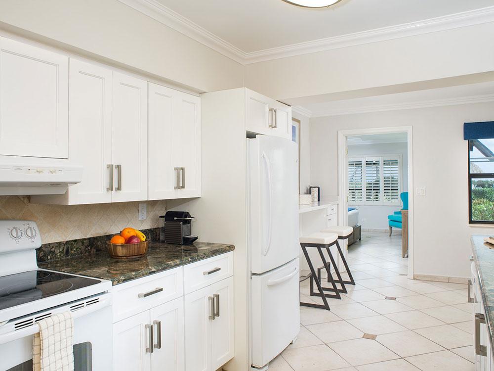 Beach house kitchen.