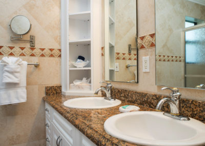 Photo of one of our rooms displaying a bathroom.